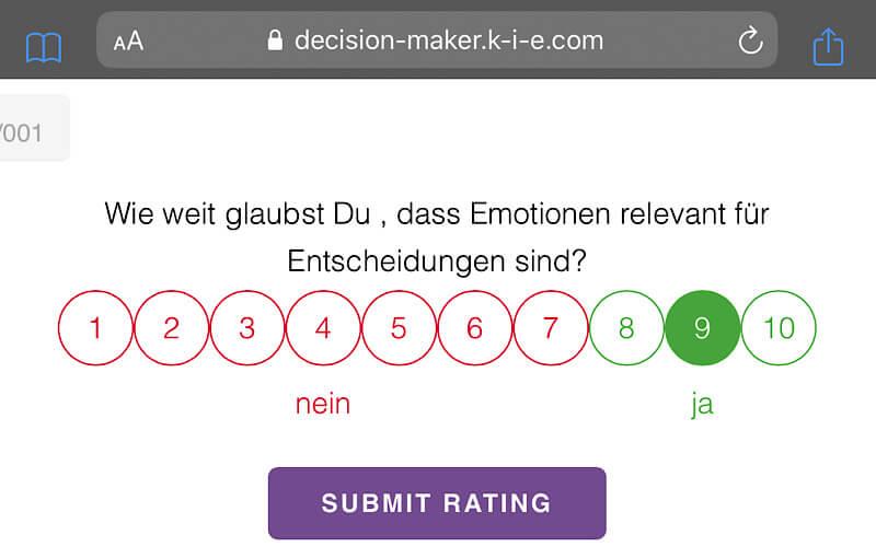 Decision Making K-i-E Decision Maker