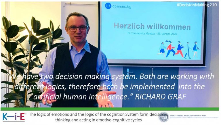 s210 Extending artificial intelligence with the logic of emotions
