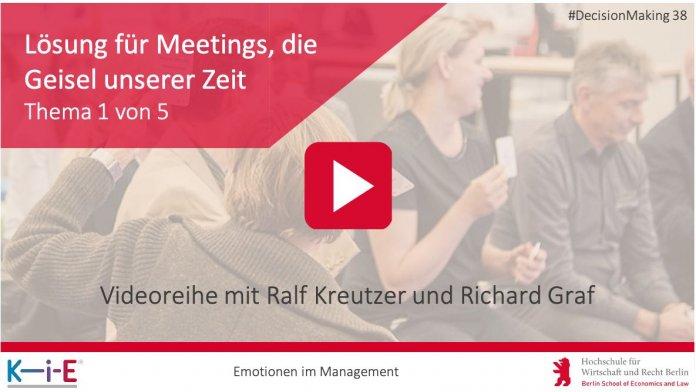 Video mit Ralf Kreuzer aus der Hochschule für Wirtschaft und Recht und Richard Graf
