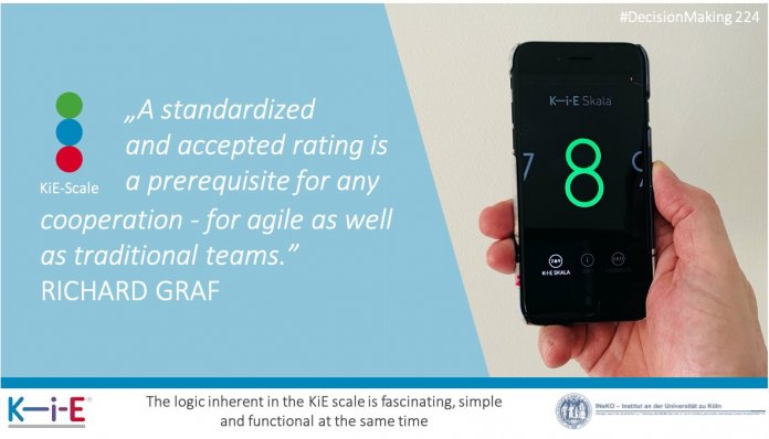 A standardized and accepted rating is a prerequisite for any cooperation - for agile as well as traditional teams