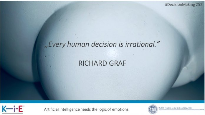 Every human decision is irrational