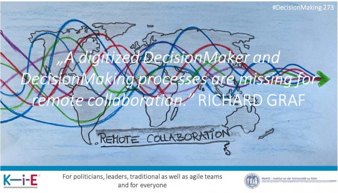 A digitized DecisionMaker and DecisionMaking processes are missing for remote collaboration