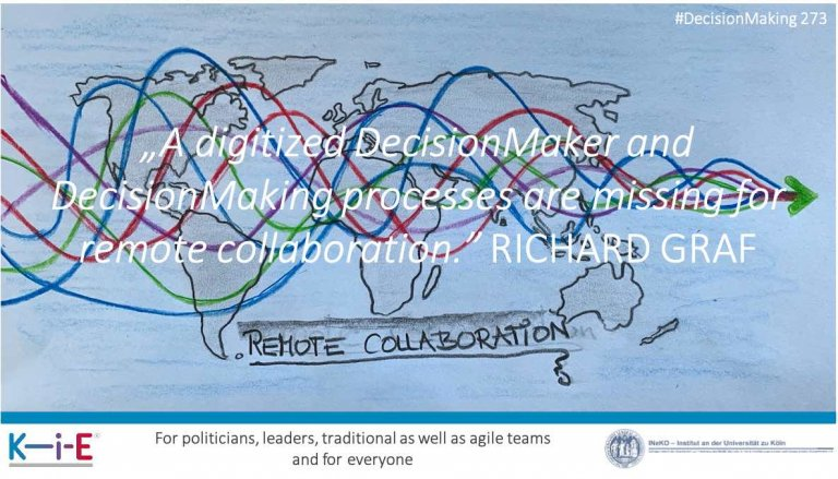 s273 Making decisions is the core of remote collaboration