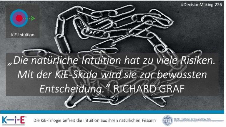s226 Wie man die KiE-Intuition für garantierte, schnelle und präzise Entscheidungen bewusst nutzt