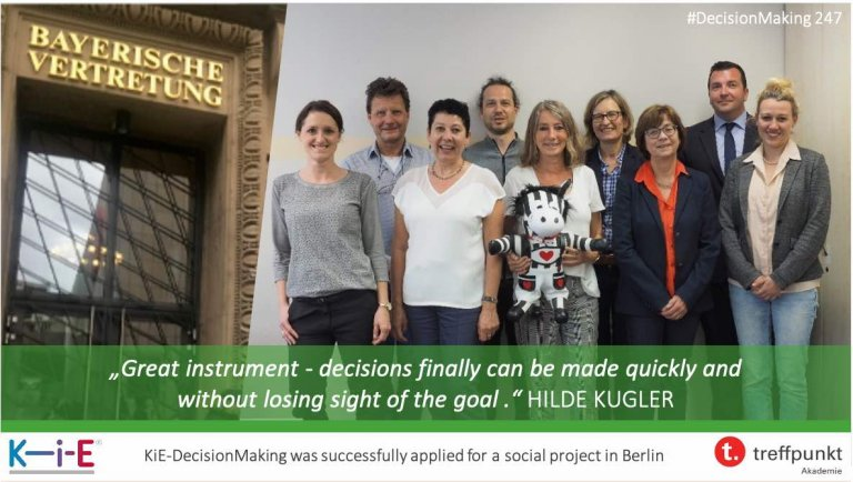 s247 KiE-DecisionMaking was successfully applied for a social project in Berlin