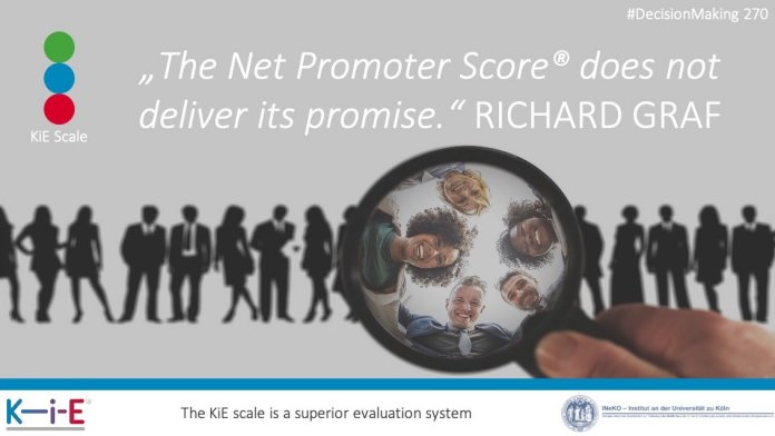 """""""The Net Promoter Score® does not deliver its promise."""" RICHARD GRAF"""