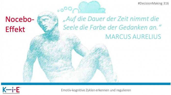 """""""Auf die Dauer der Zeit nimmt die Seele die Farbe der Gedanken an."""" Marcus Aurelius"""