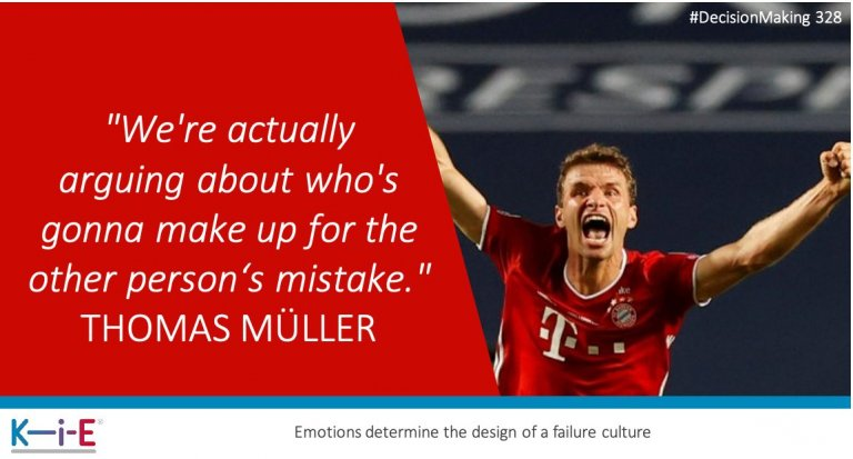 328 The core of any failure culture is to repair errors