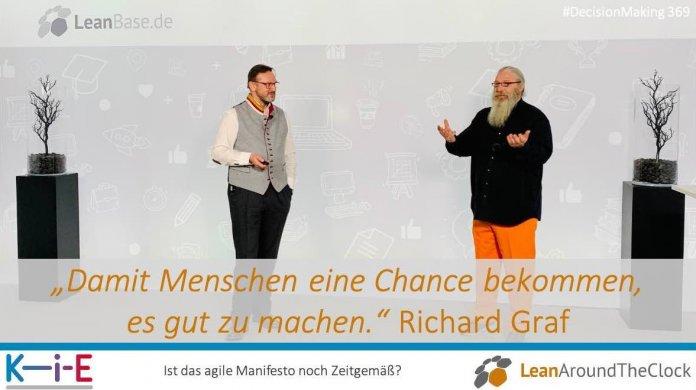 """""""Damit Menschen eine Chance bekommen, es gut zu machen."""" Richard Graf"""