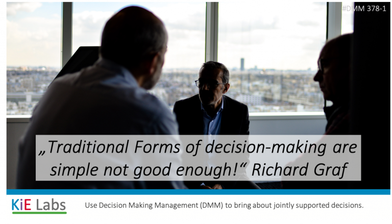 378-1 How to Solve Crisis with A New Way of Making Decisions