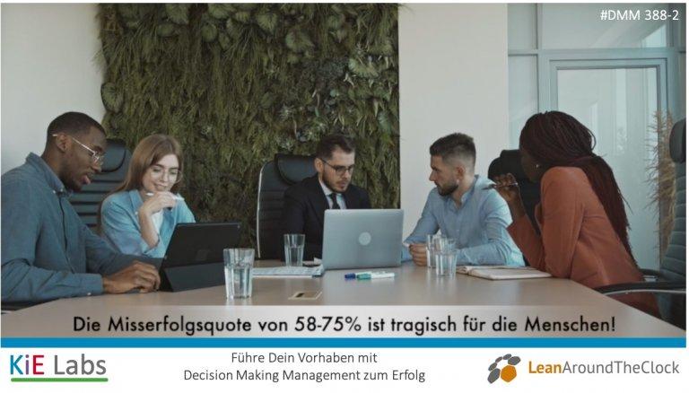 388-2 Die Misserfolgsquote von 58% bis 75% ist tragisch für die Menschen!